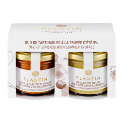 Duo of Black Truffle Spreads