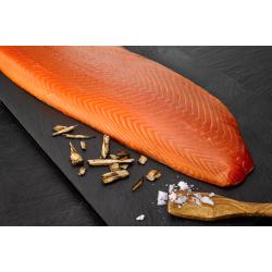 Hand-Sliced Smoked Salmon from Faroe Island