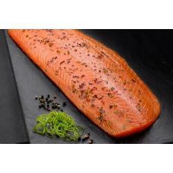 Hand-Sliced Irish Organic Smoked Salmon