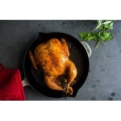 Whole Black Farmed Chicken - Frozen