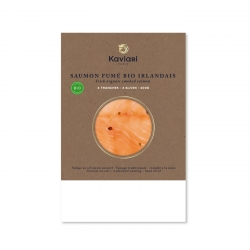 Organic Smoked Salmon from Ireland (4 slices)