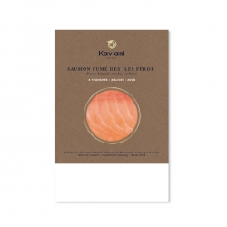 Smoked Salmon from Faroe Island (4 slices)