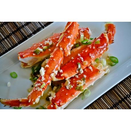 Shelled King crab leg x2