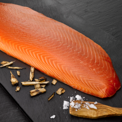 Smoked Salmon from Scotland (whole side)